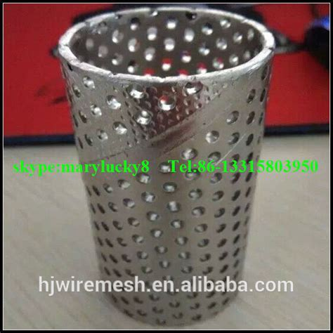 Pipa Hdpe Perforated stainless steel sprial perforated pipe sprial