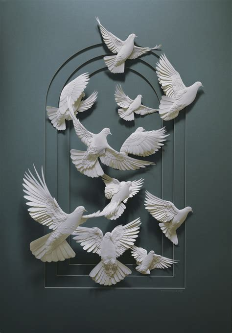 amazing sculptures amazing paper sculptures