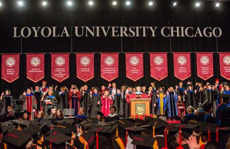Loyola Commencement Mba 2017 by Loyola Chicago 2017 Commencement College