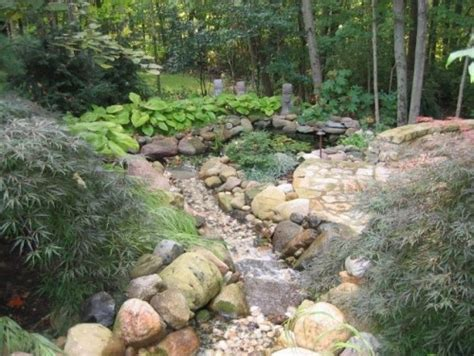 dry river bed landscaping creek bank dry river bank stuff pinterest gardens