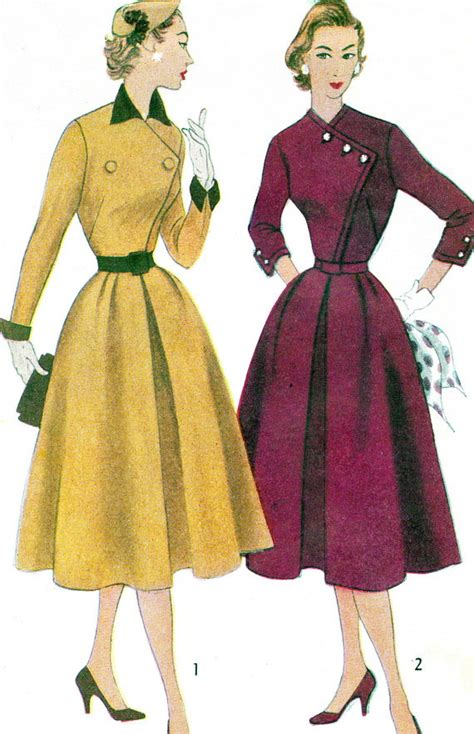 dress pattern etsy 1950s dress pattern simplicity 8493 full skirt by paneenjerez