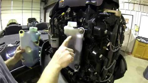 mercury oil tank level sensor  beeps   minutes