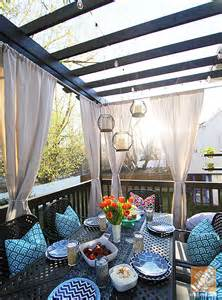 Decorating Pergolas Ideas by Deck Decorating Ideas Pergola Lights And Cement Planters