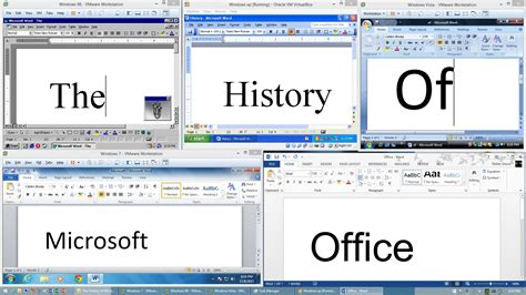 Evolved Office by The History Of Microsoft Office