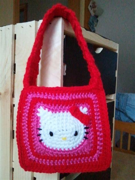 crochet pattern hello kitty bag hello kitty crochet purse crochet hello kitty aloha