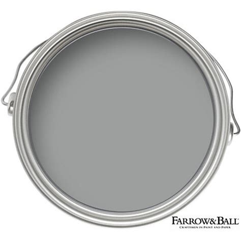 farrow estate no 265 manor house gray matt emulsion paint 2 5l