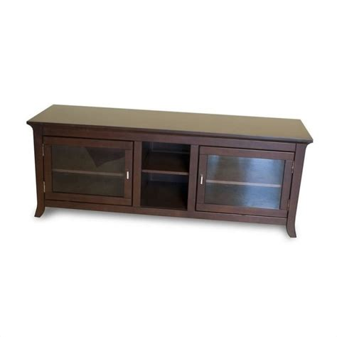Credenza Tv Table 62 inch tv stand credenza in walnut finish pal62