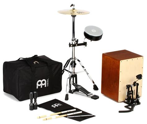 cajon cymbal meinl percussion cajon drum set with cymbals and hardware