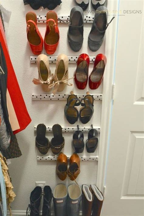insanely clever ways  store  shoes hometalk