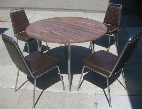 Kitchen Table And Chairs by Uhuru Furniture Collectibles Sold Retro Kitchen Table