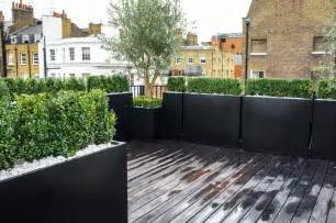 modern balcony planters roof terrace design roof terrace planters outdoor
