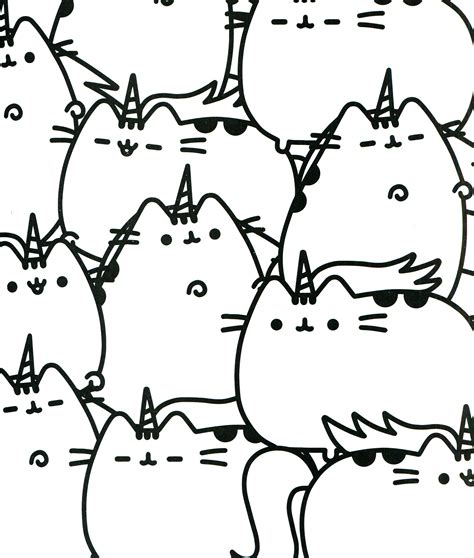 pusheen coloring pages pusheen coloring book pusheen pusheen the cat coloring
