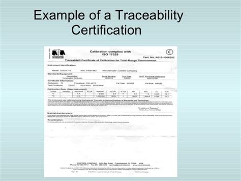 pressure calibration certificate template calibration management system