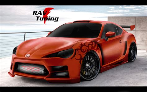 widebody toyota rav tuning widebody toyota gt 86