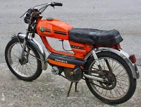 Moped Peugeot Peugeot Tsa Orange Moped