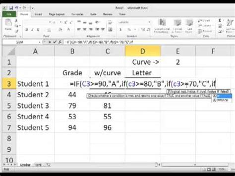excel tutorial nested if function excel 2013 tutorial countif formula doovi