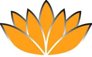 Orange Lotus Flower Orange Lotus Flower Picture Iii Clip At Clker