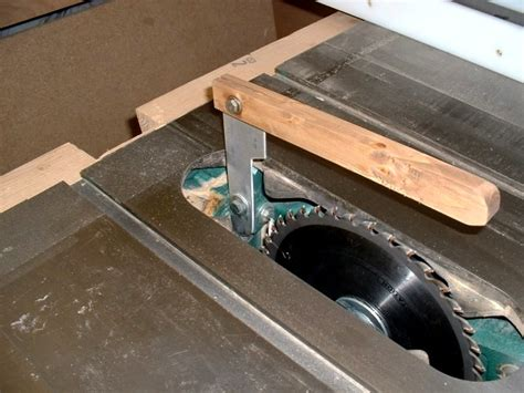Table Saw Blade Guard And Splitter Table Design Ideas
