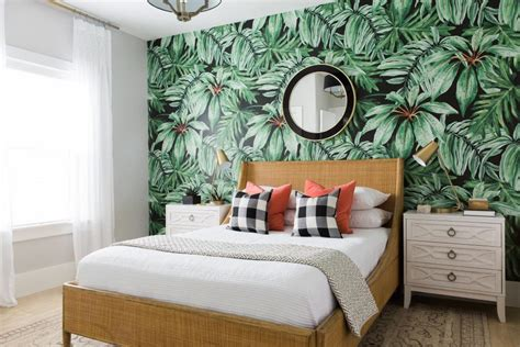 tropical bedroom bold tropical guest bedroom mollie openshaw hgtv