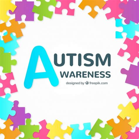 colorful puzzle pieces background of colorful puzzle pieces of autism day vector