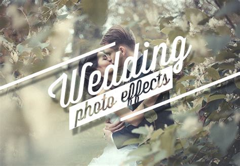 Wedding Photo Effects ? Photoshop Actions   InkyDeals