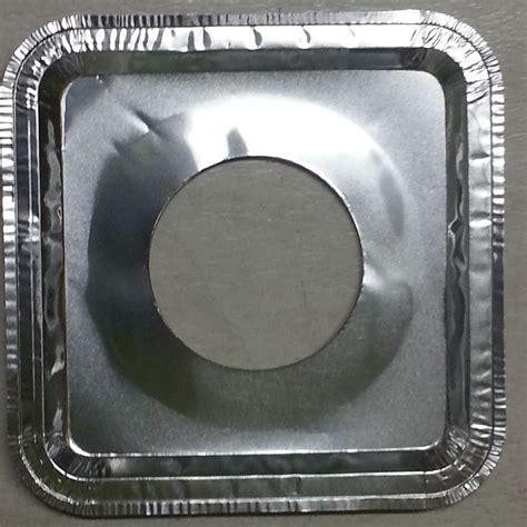 Fiolq Square 125 aluminum foil square gas burner disposable bib liners stove covers wholesale ebay