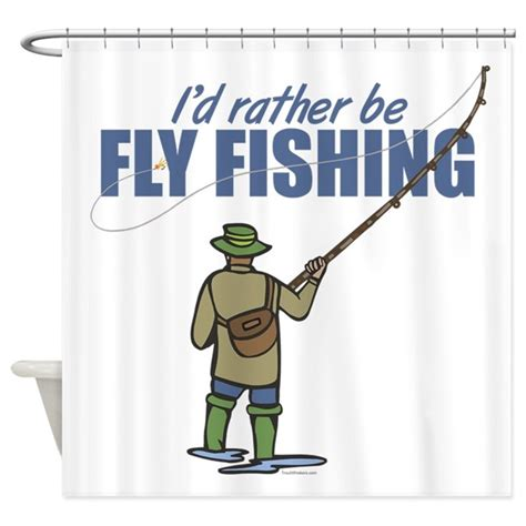 fly fishing shower curtain fly fishing shower curtain by troutwhiskers
