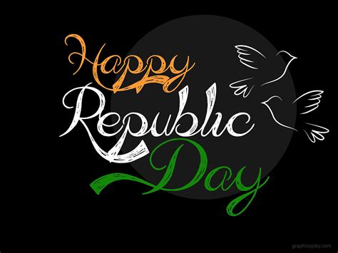 Happy Republic Day Greeting Graphicsplay