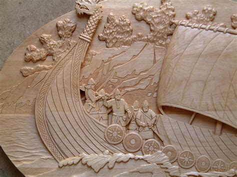 wood relief carving  woodworking