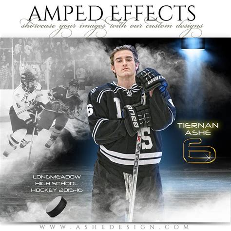 Ashe Design Amped Effects Full Steam Hockey Ashedesign Ashe Photoshop Templates