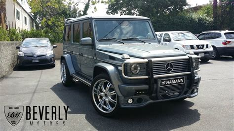 how does cars work 2005 mercedes benz g class engine control 2005 mercedes benz g500 hamann for sale beverly motors inc glendale auto leasing and sales