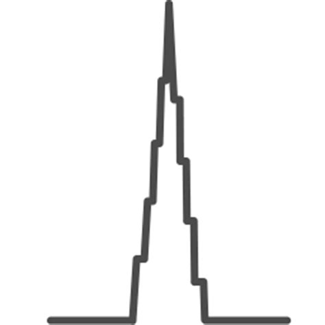 Draw A Floor Plan dubai tower icon landmarks iconset iconka com