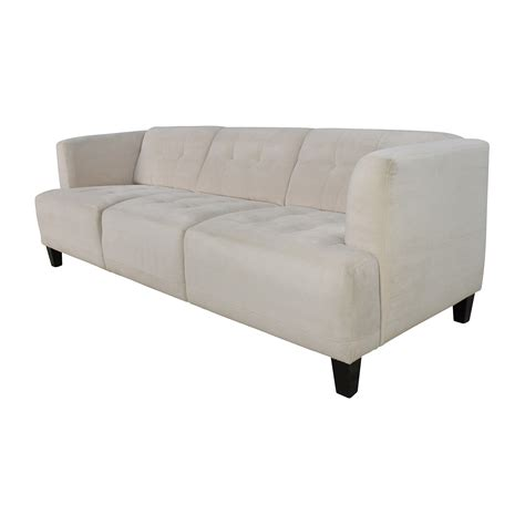 56 Off Macy S Macy S Alessia Pearl Button Tufted Sofa Macys Tufted Sofa