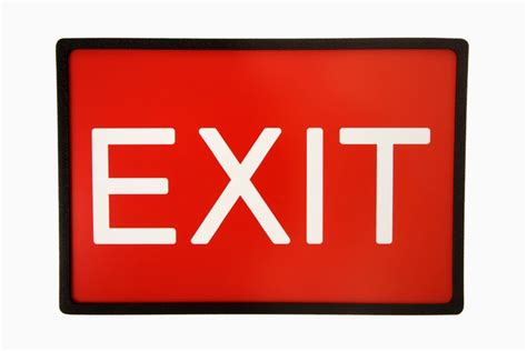 exit sign clipart cliparts and others art inspiration