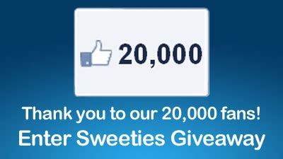 sweeties 20 000 fan thank you giveaway - Live Nation Gift Card Code