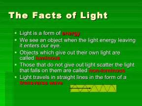 lights facts light