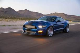 new concept cars shelby american s new concept car is a widebody mustang