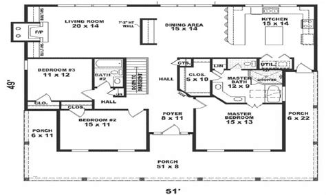 Floor Plans For 1800 Sq Ft Homes | 1800 square foot house plans home floor plans 1800 sq ft 4