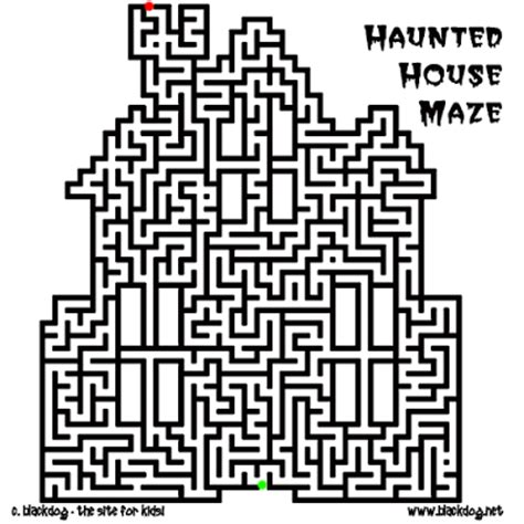 printable halloween maze difficult free halloween activity pages printable colorings net
