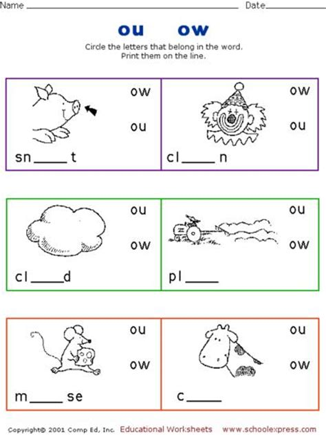 Ow Worksheets by Worksheets Ou Ow Worksheets Opossumsoft Worksheets And