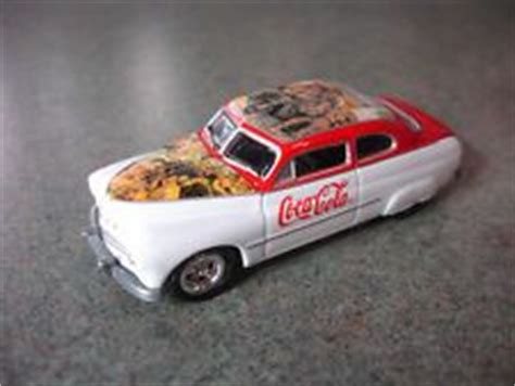 Coca Cola 1949 Mercury Johnny Lightning 1000 images about coca cola vehicles of every type on coca cola trucks and pedal cars