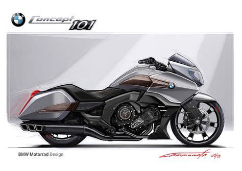 Motorrad Mit 24 by Bmw Motorrad Concept 101 Six Cylinders Of Bagger