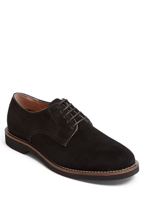 bucks shoes g h bass co buckingham buck shoe in black for lyst