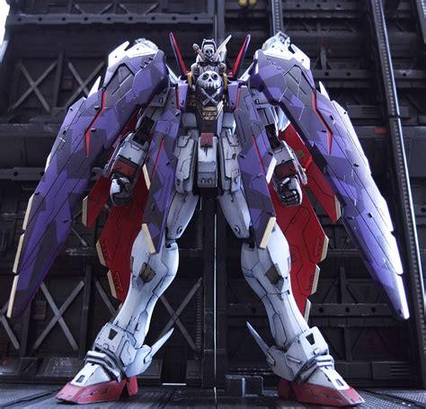 Mg Crossbone Gundam X 1 Fullcloth Custom Build Mg 1 100 Crossbone Gundam X 1 Cloth