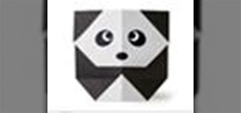 How To Make Origami Panda - how to origami a panda japanese style 171 origami wonderhowto