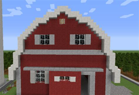 scheune in minecraft minecraft barn blueprint www imgkid the image kid