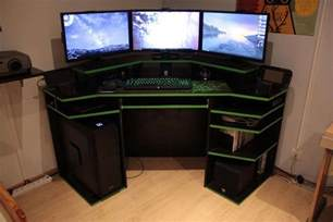 A Computer Desk For Gaming Modern Gaming Computer Desk Uk Furniture A Throughout