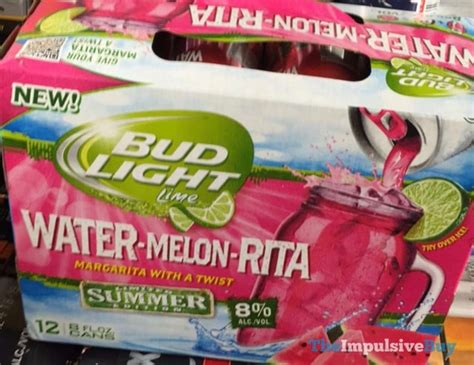 bud light watermelon rita spotted on shelves bud light lime limited summer edition
