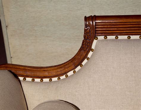 New Upholstery For Sofa Fabulous Duncan Phyfe Style Sofa All New Upholstery At 1stdibs