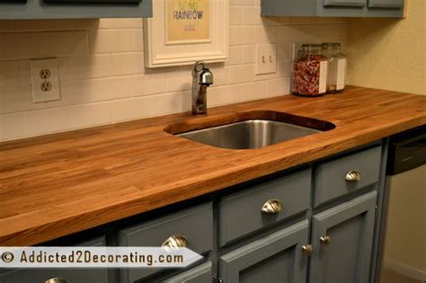 ikea butcher block countertops diy butcher block countertops from ikea on the cheap